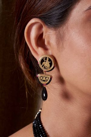 Jahanara Royal Earrings