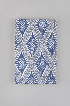 Indigo Block Printed Notebook