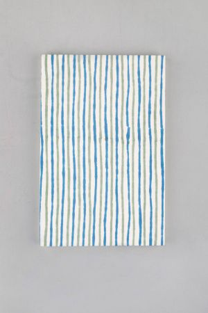 Striped Block Printed Notebook