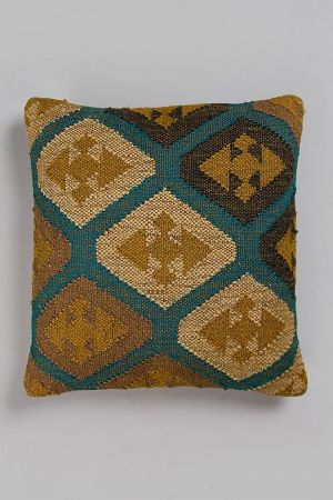 "Nilahari Jute Cushion (20''x20"")"