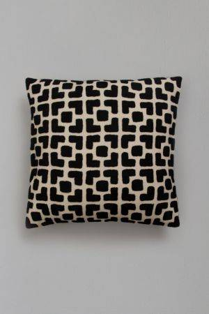 "Ciara Embroidered Cushion Cover  (16''x15"")"