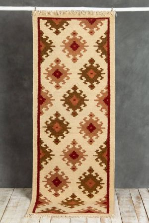 Zuri Kilim Runner (6ft x 2ft)