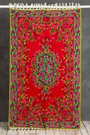 Rosa Embroidered Carpet (5ft x 3ft)