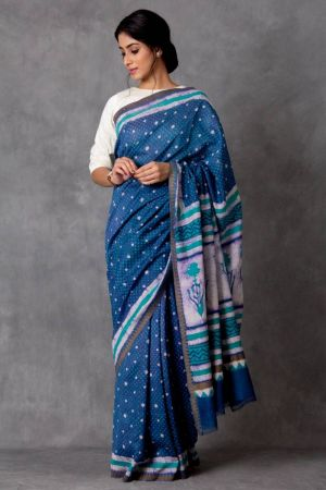 Varidhi Chanderi Saree (with Blouse)