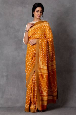 Ravista Chanderi Saree (with Blouse)