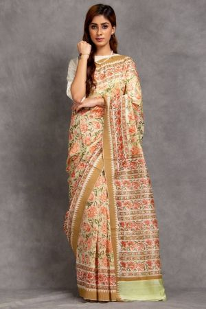 Ramya Chanderi Saree