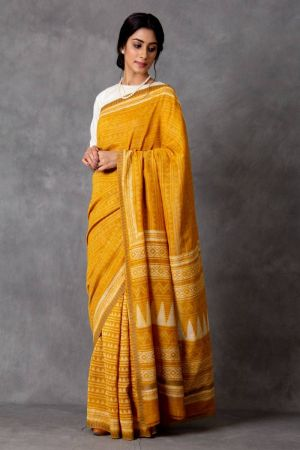 Tivra Chanderi Saree (with Blouse)