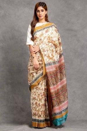 Anaisha Chanderi Saree (with Blouse)