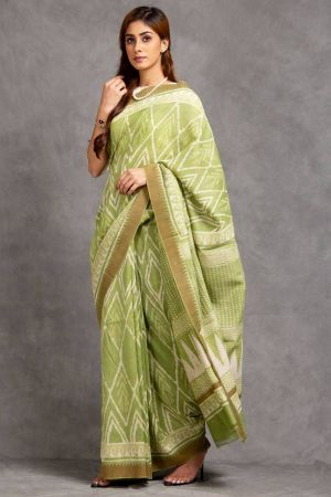 Samula Chanderi Saree (with Blouse)