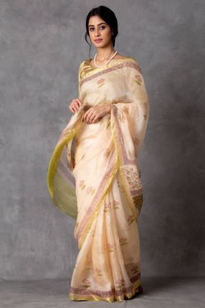 Toyaja Kota Silk Saree (with Blouse)