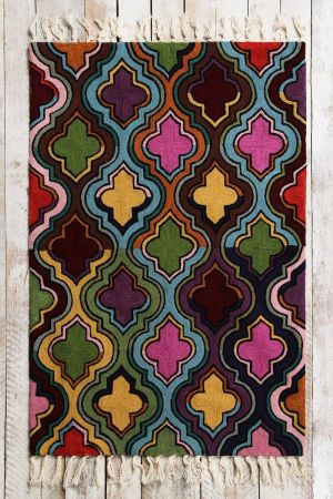 Kissa Multi-coloured Rug (3ft x 2ft)