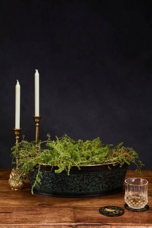 Barque Embossed Planter