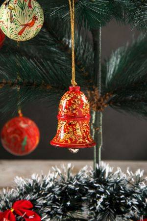 Xmas  Red Hanging Bell