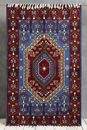 Lateefah Embroidered Carpet (5ft x 3ft)