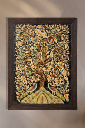 Around the Tree of Life - Ebony ( 22.5in x 17in )