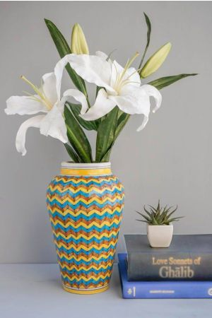 Chevron Flower Vase