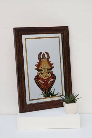 Marutan Mirror Painting ( 14in x 10in )