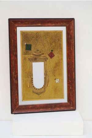 Alcazar Mirror Painting ( 14in x 10in )