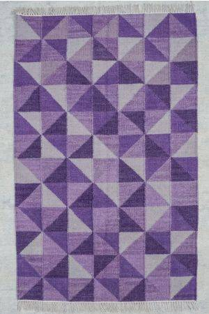 Evolet Might Rug- Lilac ( 6ft x 4ft )