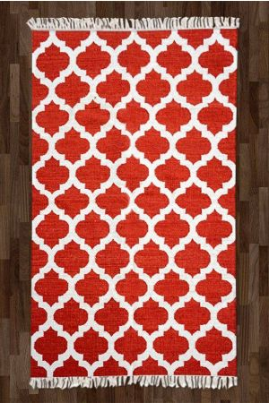 Imperial Mughal Rug - Red ( 5ft x 8ft )