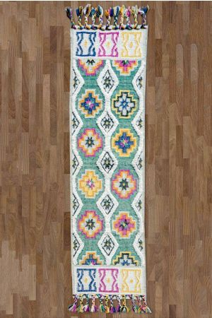 Aesthetic Tufted Runner ( 2.5ft x 9ft )
