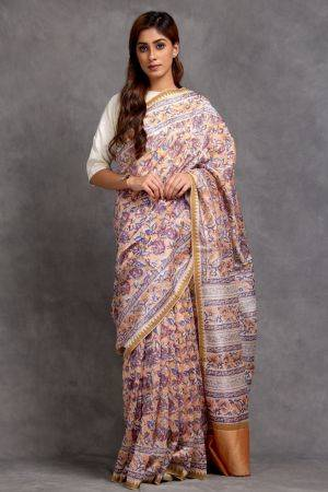 Arnit Chanderi Saree (with Blouse)